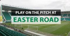 PLAY ON THE PITCH AT EASTER ROAD