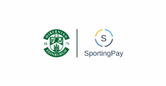 HIBERNIAN AGREE SPORTING PAY PARTNERSHIP