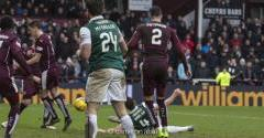 HIBERNIAN EARN A REPLAY AGAINST HEARTS