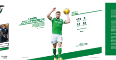 ISSUE 7 OF THE HIBEE FEATURES LEWIS STEVENSON ON THE COVER