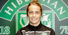 JOELLE MURRAY FIRST TO AGREE PART-TIME PRO CONTRACT WITH HIBERNIAN WOMEN