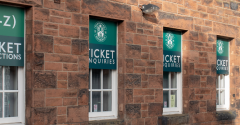 TICKET OFFICE CLOSED ON SATURDAY