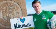 FOUNDATION URGES FANS TO JOIN KILTWALK TEAM