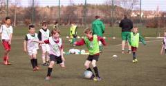 HIBERNIAN FOOTBALL CENTRES UNDER WAY