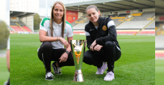 JOELLE MURRAY AIMING FOR THIRD SUCCESSIVE SCOTTISH CUP WIN