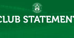CLUB STATEMENT | 2019-20 SEASON
