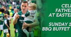 FINAL CHANCE TO BOOK FATHER'S DAY LUNCH AT EASTER ROAD