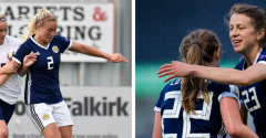 SMITH AND ARNOT FEATURE IN SCOTLAND WIN
