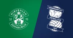 Friendly: Hibernian FC v Birmingham City FC