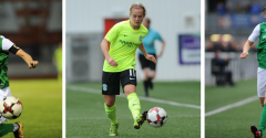 THREE HIBS LADIES PLAYERS IN EUROS SQUAD