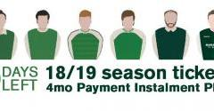 THE DEADLINE FOR THE FOUR MONTH PAYMENT INSTALMENT PLAN IS TODAY