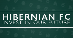YOUR CHANCE TO OWN PART OF HIBERNIAN