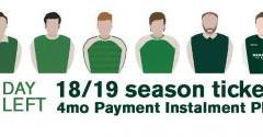 JUST 1 DAY REMAINS FOR THE FOUR MONTH PAYMENT INSTALMENT PLAN