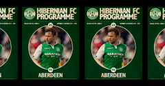 ISSUE 8 OF THE HIBERNIAN FC PROGRAMME