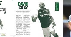 ISSUE 27 OF THE HIBEE FEATURES DAVID GRAY ON THE COVER