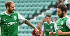 KEATINGS HAT-TRICK HELPS HIBERNIAN XI TO WIN OVER COLDSTREAM
