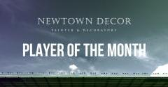 VOTING OPEN FOR APRIL'S NEWTOWN DECOR PLAYER OF THE MONTH