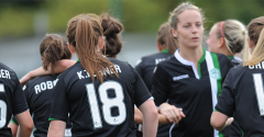 LADIES PLAY CELTIC AT EASTER ROAD ON WEDNESDAY