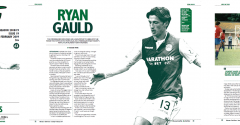 ISSUE 19 OF THE HIBEE FEATURES GAULD ON THE COVER