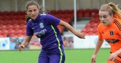 LADIES FALL TO CITY DEFEAT
