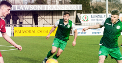 RESERVE SQUAD IN ACTION AWAY TO ST MIRREN