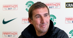 STUBBS PREVIEWS MATCH ON HIBS TV