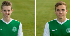SCOTLAND CALL-UP FOR ACADEMY DUO