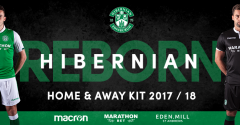 HIBERNIAN REBORN: 2017-18 HOME AND AWAY KITS