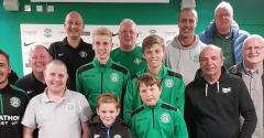ACADEMY GAINS FROM EMERALD HIBS DONATION