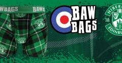 HIBERNIAN BAWBAGS AVAILABLE NOW