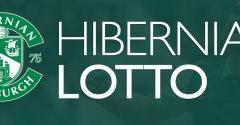 £2.3M JACKPOT WITH HIBERNIAN LOTTO THIS SATURDAY