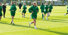 HIBERNIAN LADIES PREPARE FOR NEW SEASON