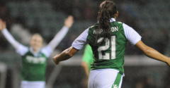 HIBERNIAN LADIES DEFEAT CELTIC AT EASTER ROAD