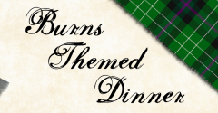 BURNS THEMED DINNER TICKETS ON SALE