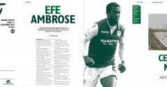 EFE AMBROSE ON THE COVER OF THE HIBEE THIS SUNDAY
