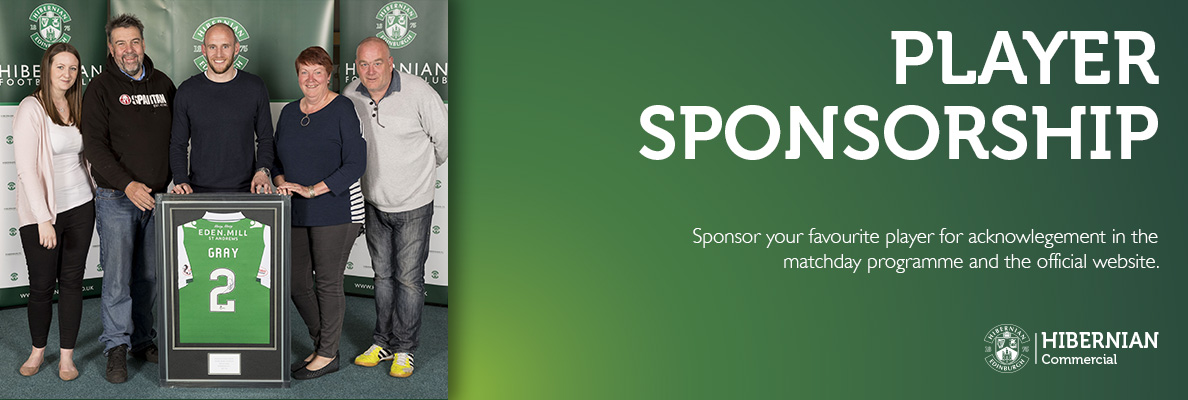 Player Sponsorship Banner