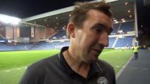 Stubbs Reviews Ibrox Win
