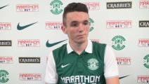 McGINN ON HIBS MOVE