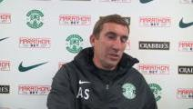 Stubbs Previews Falkirk Match