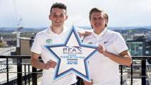MCGINN AND CUMMINGS UP FOR SECOND PFA AWARD